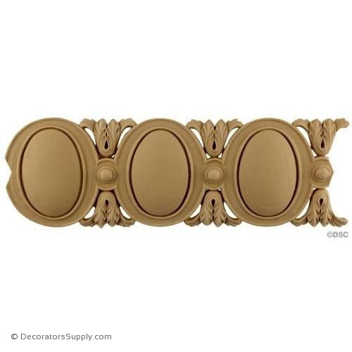 Egg and Dart - Louis XVI 4 3/16H - 7/16Relief-woodwork-furniture moulding-Decorators Supply