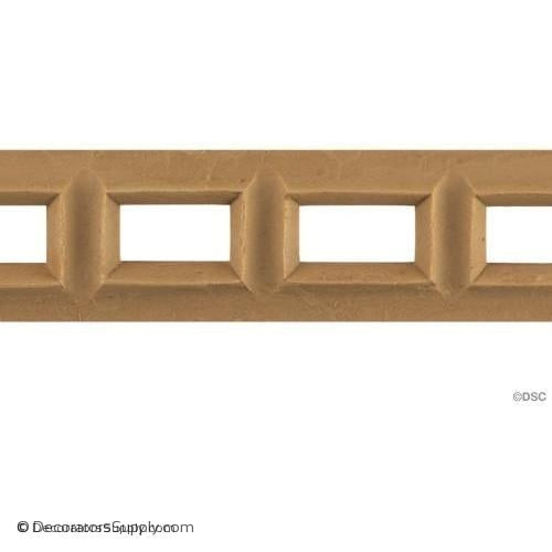 Linear - Classic 1 1/2H - 3/16Relief-moulding-for-furniture-woodwork-Decorators Supply