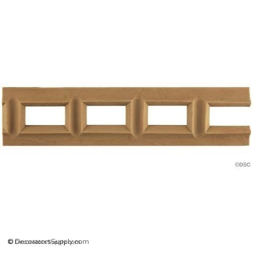 Linear - Classic 2H - 1/4Relief-moulding-for-furniture-woodwork-Decorators Supply