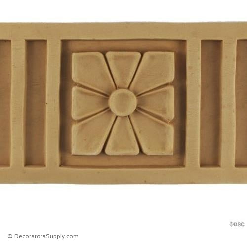 Fluted Linear - Italian 4 3/4H - 3/8Relief-moulding-for-furniture-woodwork-Decorators Supply