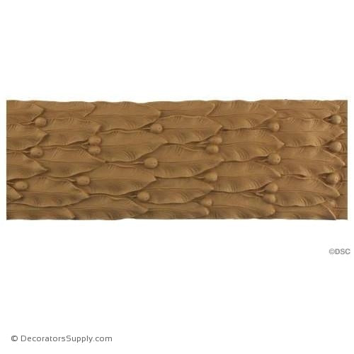 Laurel Leaf - Classic 4 1/8H - 1/4Relief-woodwork-furniture-lineal-ornament-Decorators Supply