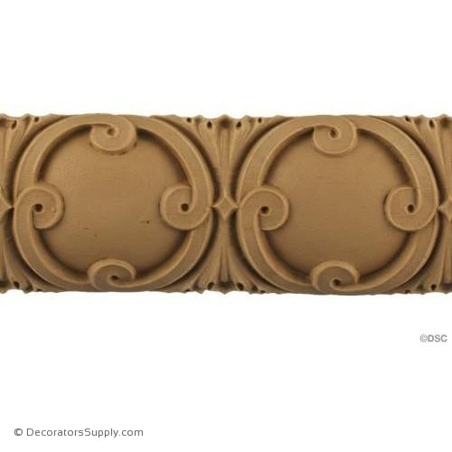 Lineal - French 2 1/2H - 9/16Relief-woodwork-furniture moulding-Decorators Supply
