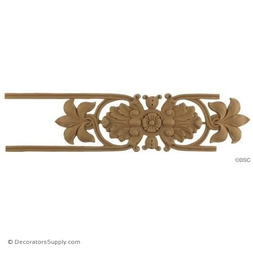 "Floral Lineal - French - 4 5/8"" Wide-woodwork-furniture-lineal-ornament-Decorators Supply"