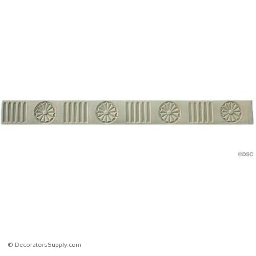 Fluted - Colonial 1 3/4H - 1/8Relief-moulding-for-furniture-woodwork-Decorators Supply