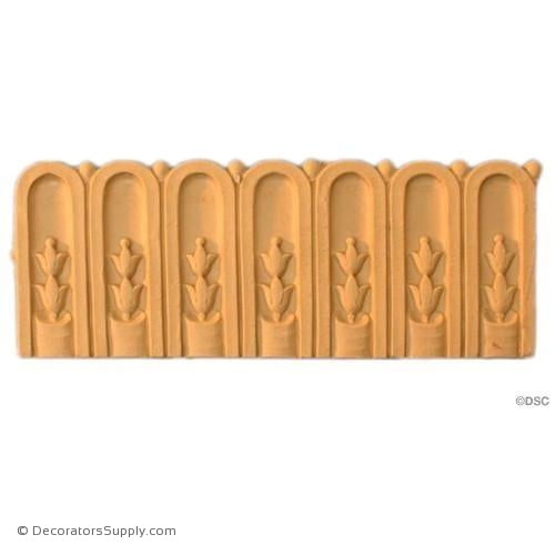 Fluted-Louis XVI 2 1/2H - 3/16Relief-moulding-for-furniture-woodwork-Decorators Supply