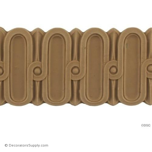 Fluted-Louis XVI 2 7/8H - 3/16Relief-moulding-for-furniture-woodwork-Decorators Supply