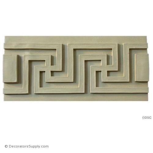 Greek Key -Classic 4 3/4H - 5/8Relief-moulding-for-woodwork-furniture-Decorators Supply