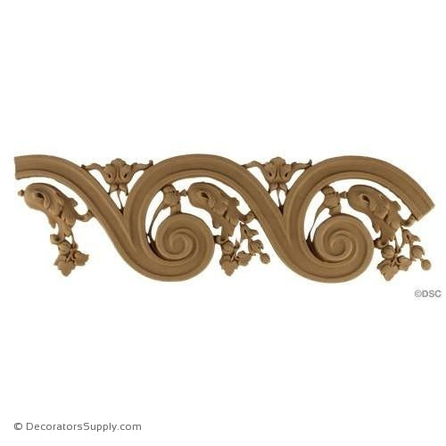 Vitruvian Wave-Louis XVI 4H - 1/4Relief-moulding-for-furniture-woodwork-Decorators Supply
