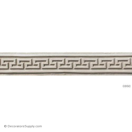 Greek Key-Greek 2H - 3/16Relief-moulding-for-woodwork-furniture-Decorators Supply