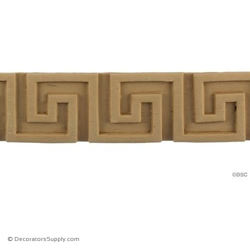 Greek Key-Greek 1 13/16H - 1/8Relief-moulding-for-woodwork-furniture-Decorators Supply