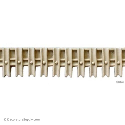 Linear - Colonial 2H - 3/8Relief-moulding-for-furniture-woodwork-Decorators Supply