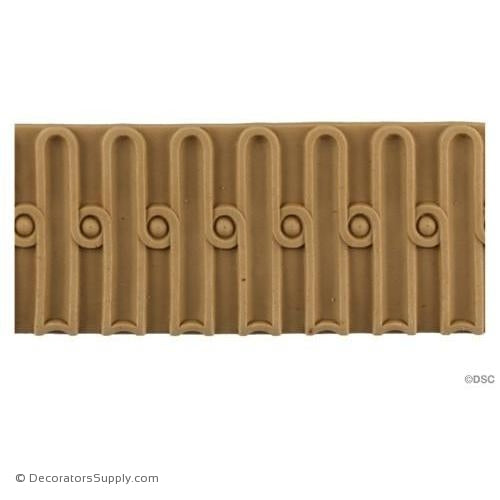 Fluted-Colonial 2 1/16H - 1/4Relief-moulding-for-furniture-woodwork-Decorators Supply