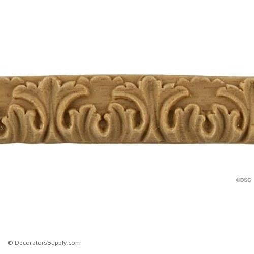 Linear - Ren. 7/16H - 1/16Relief-woodwork-furniture-lineal-ornament-Decorators Supply