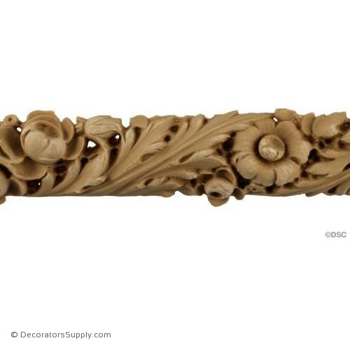 Leaf-Louis XVI 1 3/4H - 3/4Relief-moulding-for-furniture-woodwork-Decorators Supply