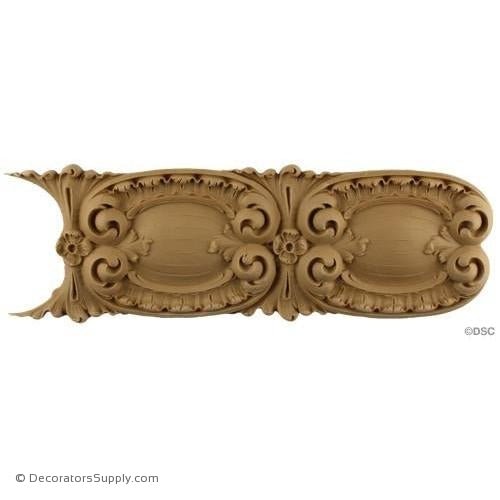Linear - Louis XV 4 3/4H - 1/2Relief-woodwork-furniture-lineal-ornament-Decorators Supply