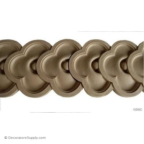 Running Coin - Ren. 4 7/8H - 1/2Relief-moulding-for-furniture-woodwork-Decorators Supply