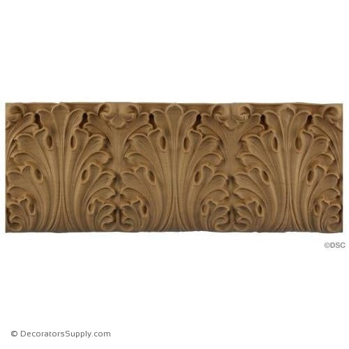 Acanthus Leaf Linear - Classic 5H - 5/8Relief-woodwork-furniture-lineal-ornament-Decorators Supply