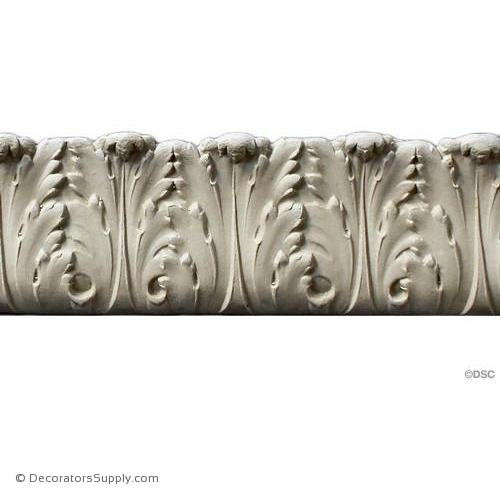 Acanthus Leaf Linear - Ital. Ren. 2 1/2H - 1/2Relief-woodwork-furniture-lineal-ornament-Decorators Supply