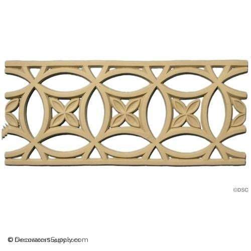 Linear - Moorish 4 1/2 H 3/16Relief - Catalog Dims Wrong-moulding-for-furniture-woodwork-Decorators Supply