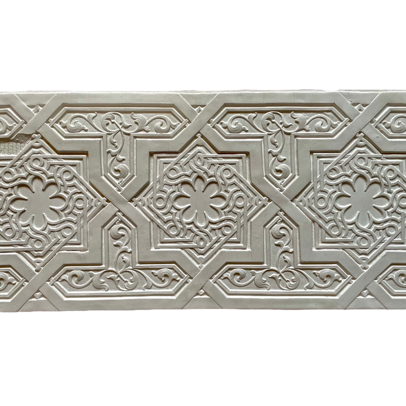 Plaster Frieze Moorish 9 5/8H - 3/8Relief