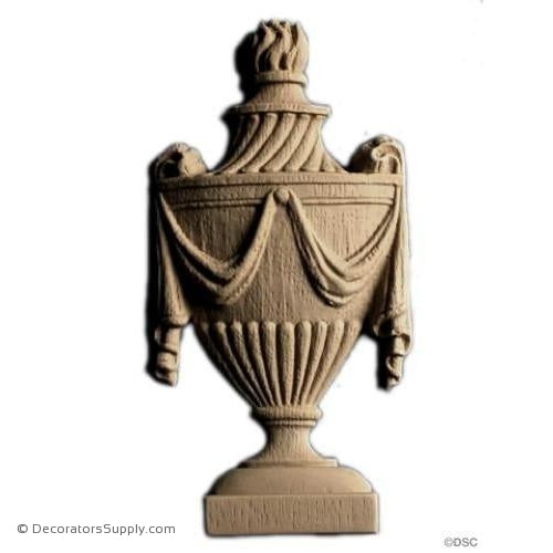 Urn-ornaments-for-furniture-woodwork-Decorators Supply