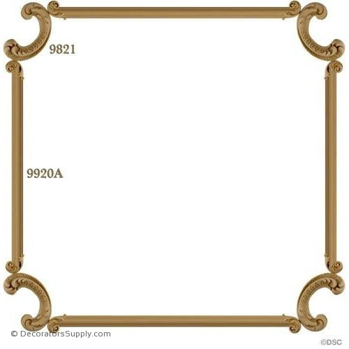 Wall Panel Design - 4-9821 12FT-9920A-ornate-french-Decorators Supply