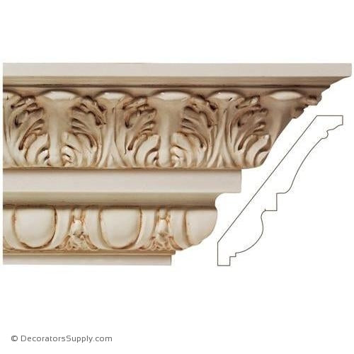 Great Selection of Quality Wood Crown Mouldings & Cove Mouldings