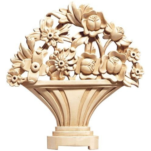 Flower Basket Wood - (Lindenwood)