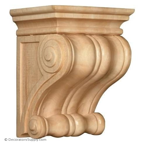Classic Wood Corbel - (Cherry, Maple & Lindenwood)