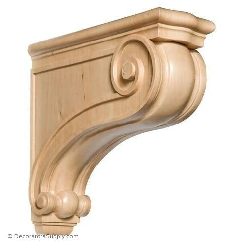 Traditional Wood Corbel - (Cherry & Maple)