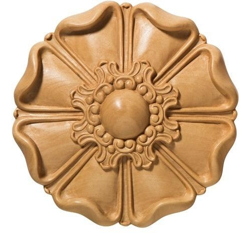Petal Wood Rosette [2 PCS]- (Lindenwood)