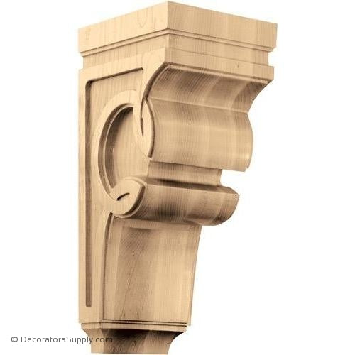 Celtic Wood Corbel - (Cherry, Maple, Walnut & White Oak) - 3 SIZES