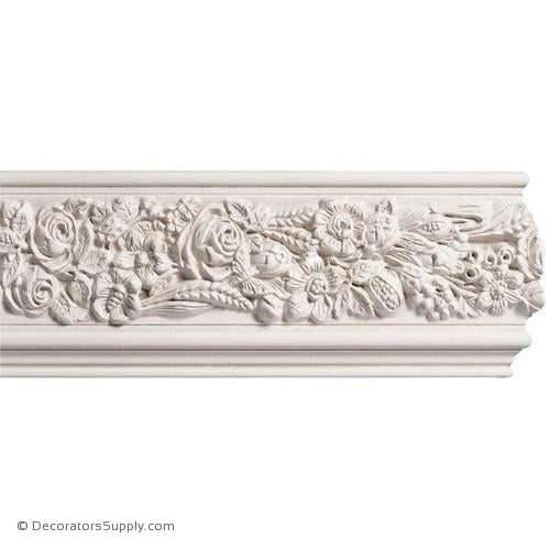 "Mon Reale® Frieze Moulding-Country Flowers-13/16"" x 5 1/2"" W"