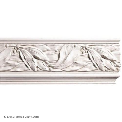 "Mon Reale® Frieze Moulding-Laurel Leaves-13/16"" x 5 1/2"" W"