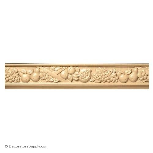 "3-1/2"" Wide -  Tuscan Country Frieze (8' increments)"