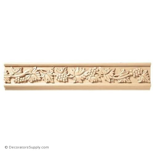 "3-1/2"" Wide - Vineyard Frieze (8' increments)"