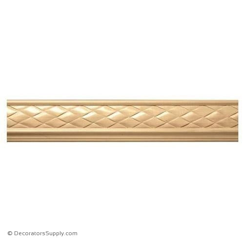 "3-1/4"" Wide -  Woven Frieze (8' increments)"