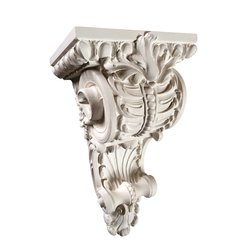 Plaster Corbel - French Renaissance Louis XV - 3 SIZES