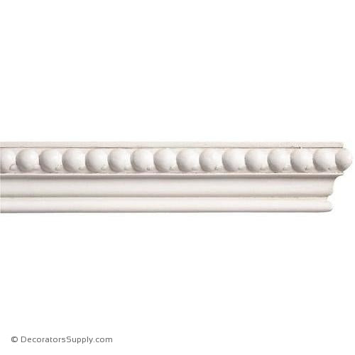 "Mon Reale® Panel Moulding -Large Beads- 7/8"" x 1 3/4"" Wide"