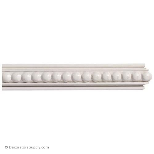 "Mon Reale® Panel Moulding -Large Beads- 7/8"" x 1 1/2"" Wide"