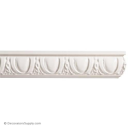 "Mon Reale® Panel Moulding -Egg & Dart- 1"" x 2 3/4"" Wide"