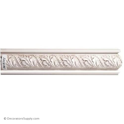 "Mon Reale® Panel Moulding-Acanthus w/Pearls- 1 3/8"" x 5 1/2"""