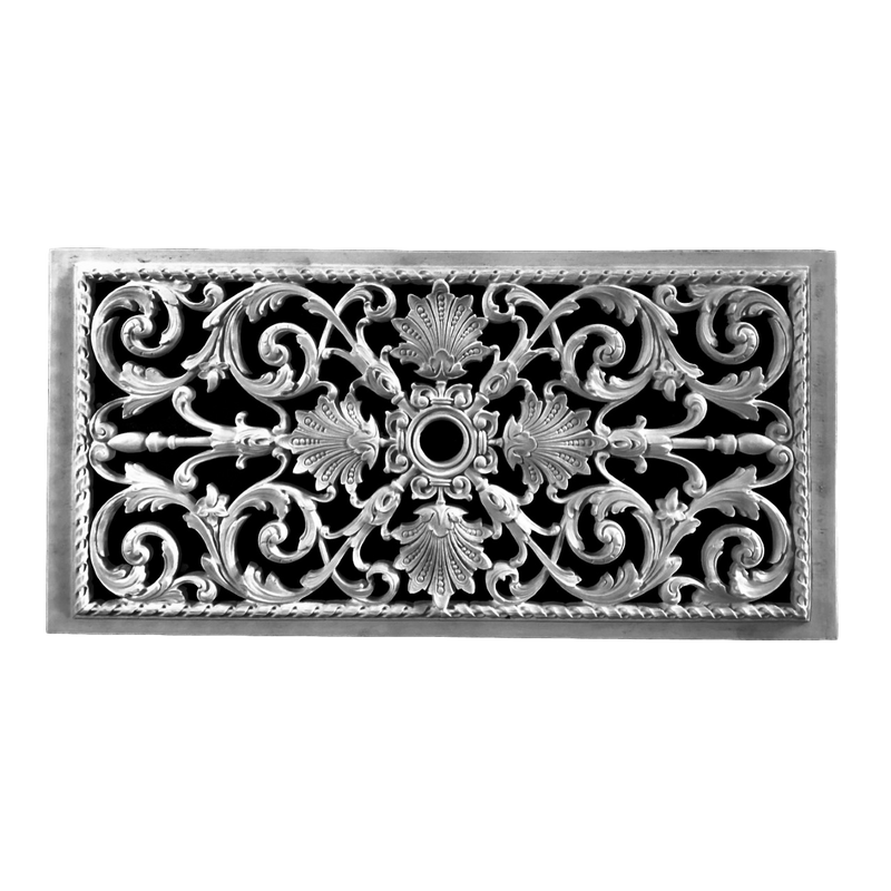 "Resin French Grille 20"" x 10"" x 1/2"""