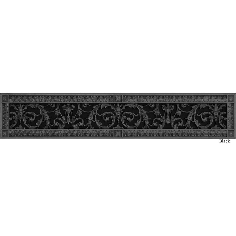 RESIN LOUIS XIV GRILLE - 4X30 DUCT, 6 X 32 FRAME