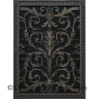 "RESIN LOUIS XIV GRILLE - 20 x 14"" DUCT, 22 x 16"" FRAME"