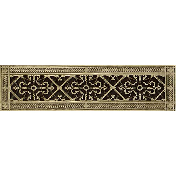 "RESIN ARTES & CRAFTS GRILLE 4 x 20"" DUCT  6 x 22"" FRAME"