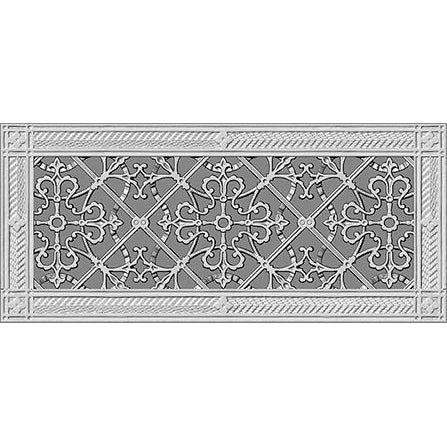 "RESIN ARTES & CRAFTS GRILLE - 6"" x 16"" DUCT 8"" x 18"" FRAME"