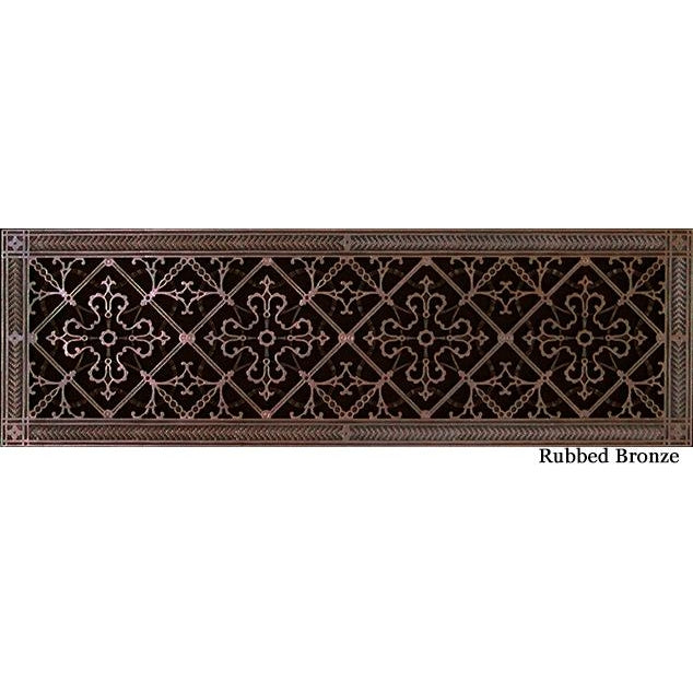 RESIN ARTES & CRAFTS GRILLE - 8 X 30 DUCT, 10 X 32 FRAME