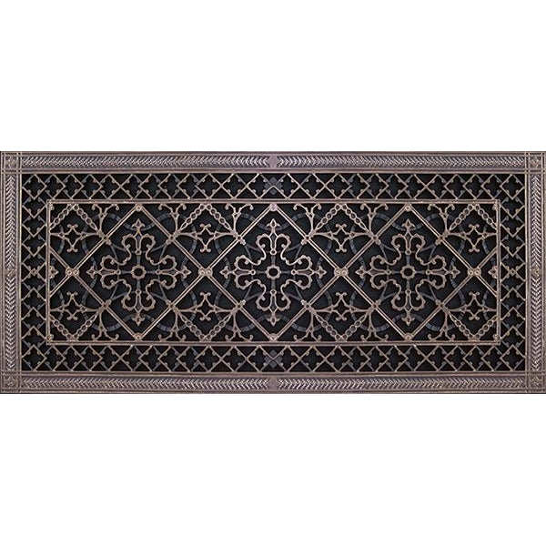 RESIN ARTES & CRAFTS GRILLE - 12 X 30 DUCT, 14 X 32 FRAME