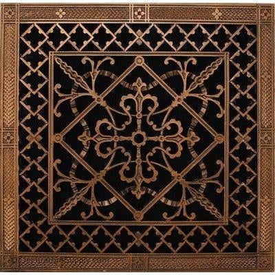 RESIN ARTES & CRAFTS GRILLE - 16X16 DUCT, 18 X 18 FRAME-BAI HVAC Grille-vent-cover-Decorators Supply